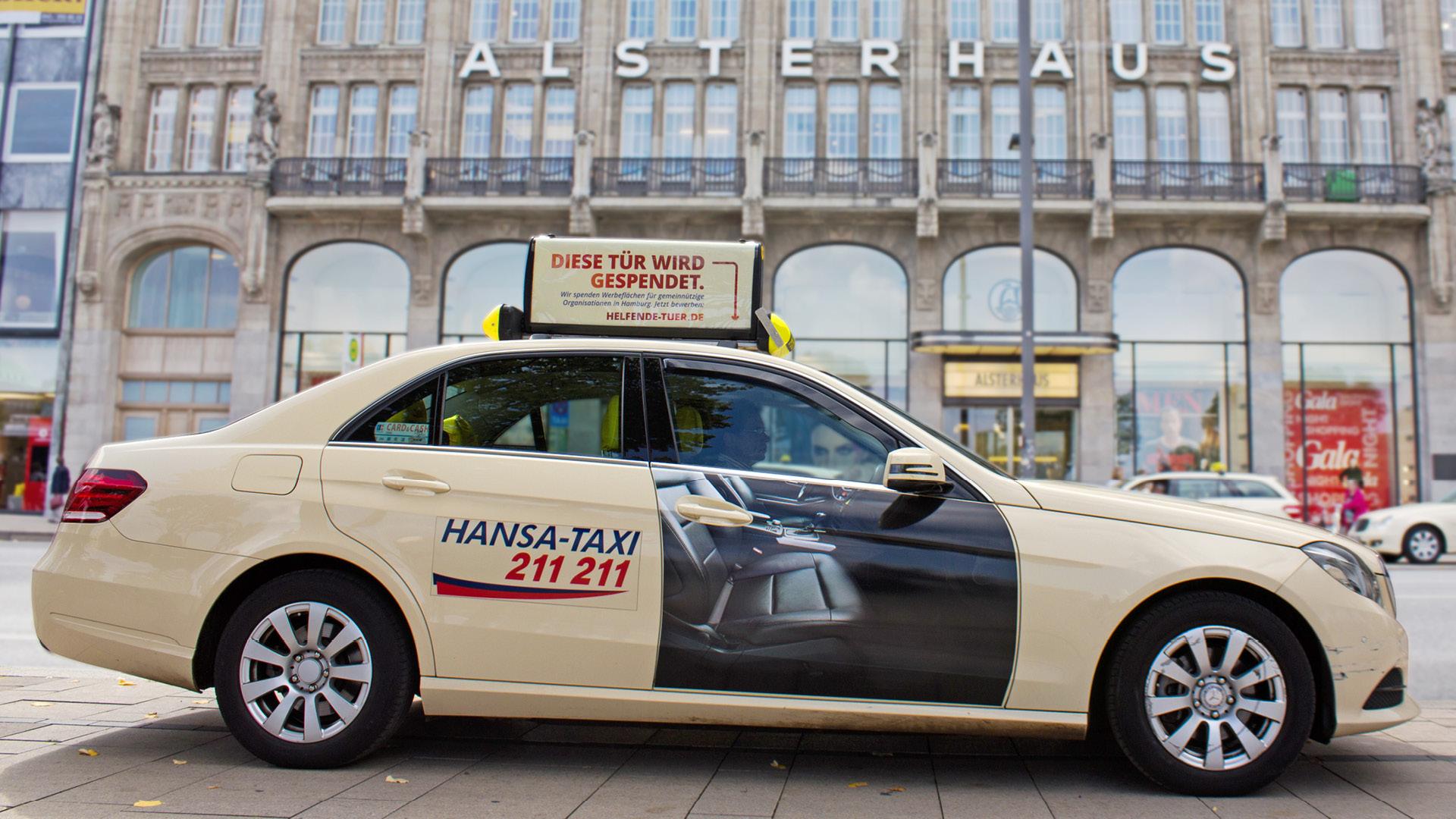 Taxitüren fürs Ehrenamt