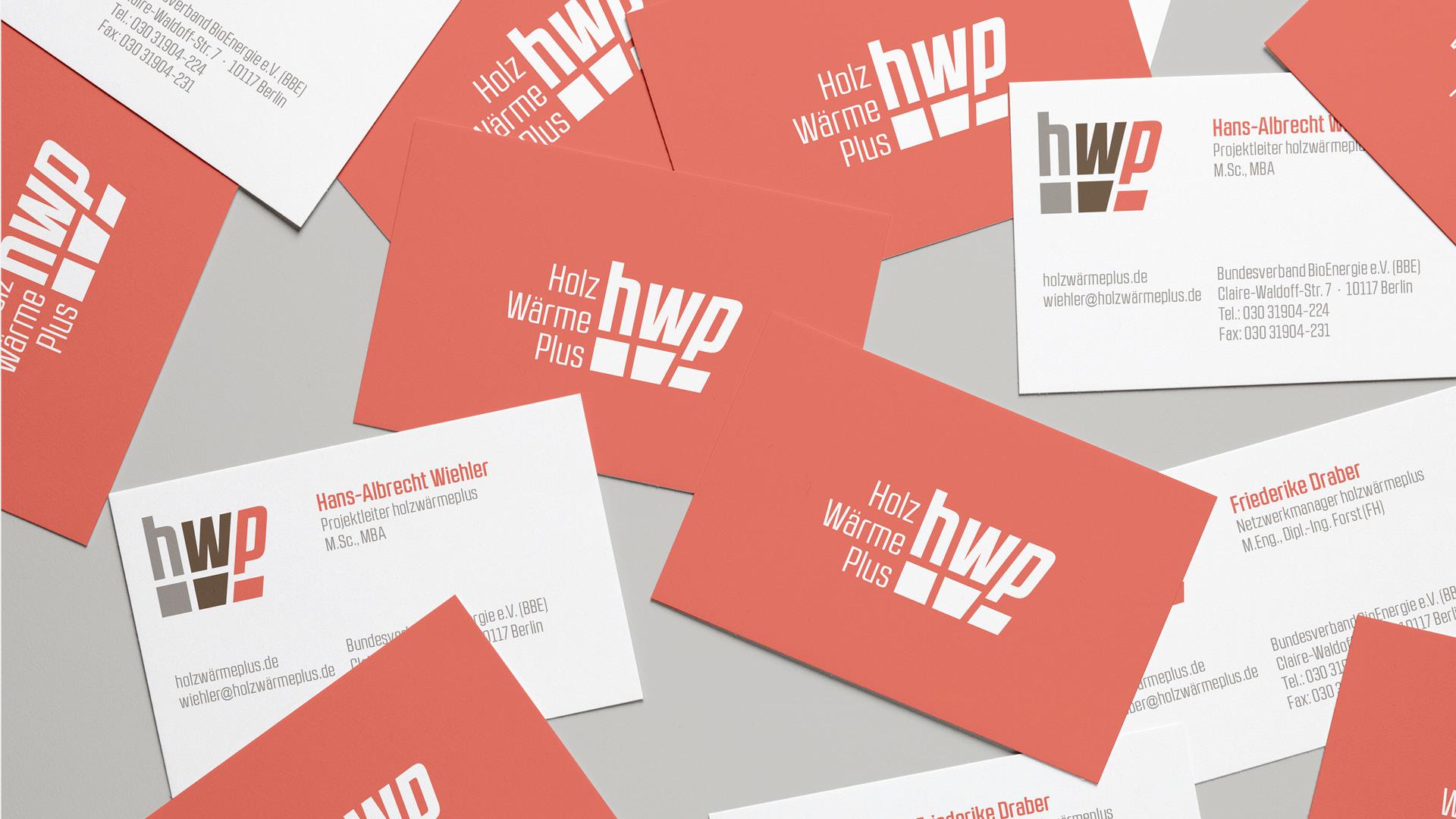 hwp Geschäftsausstattung ©gobasil GmbH ~ Agentur für Kommunikation, Hamburg Hannover