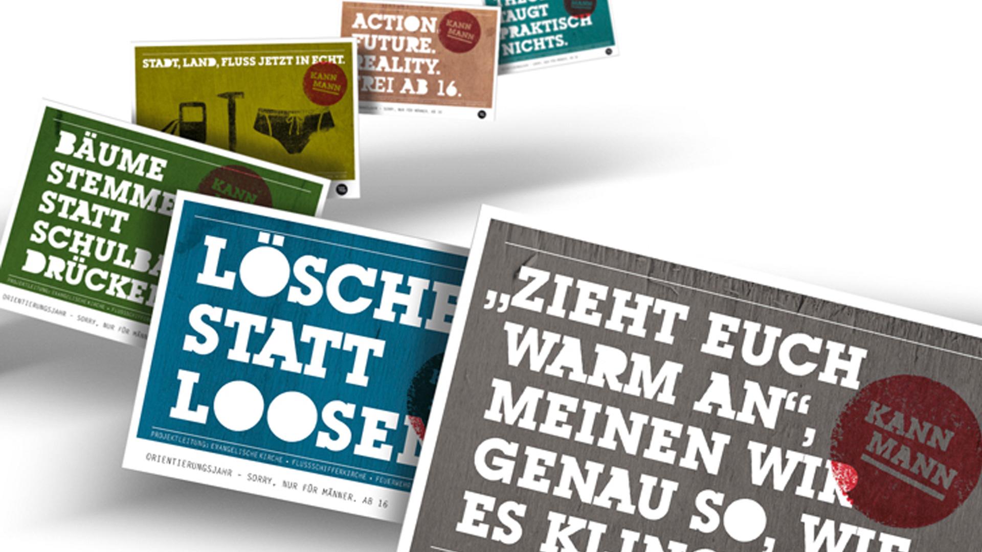 Kann Mann Kampgagne ©gobasil GmbH ~ Agentur für Kommunikation, Hamburg Hannover