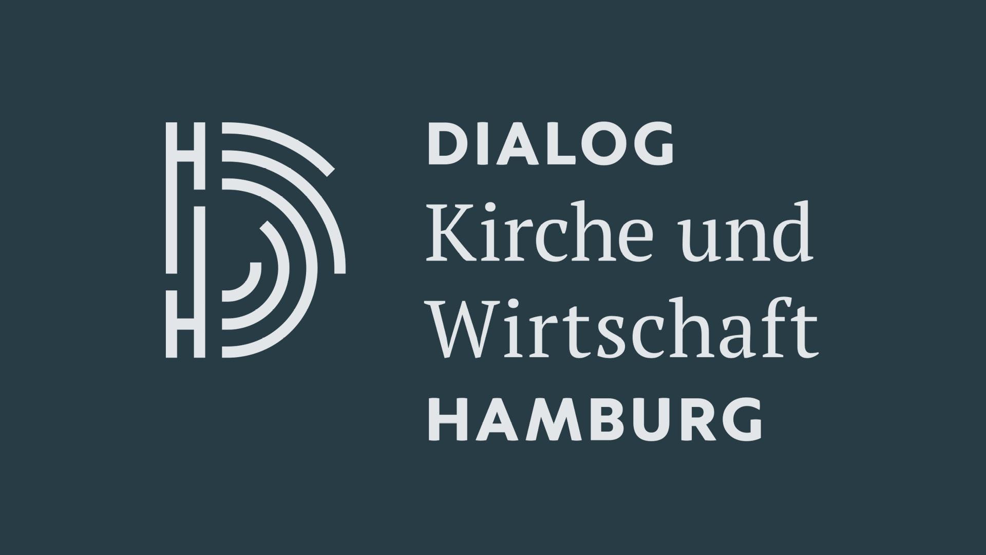 Dialog Kirche und Wirtschaft Hamburg Logodesign ©gobasil GmbH ~ Agentur für Kommunikation, Hamburg Hannover