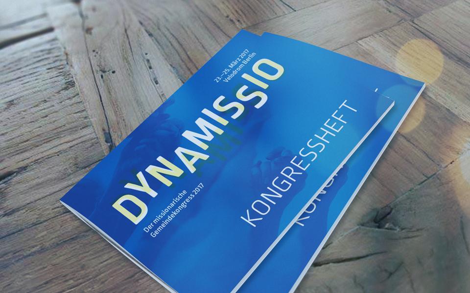 Dynamissio Kongressheft ©gobasil ~ Agentur für Kommunikation, Hamburg Hannover