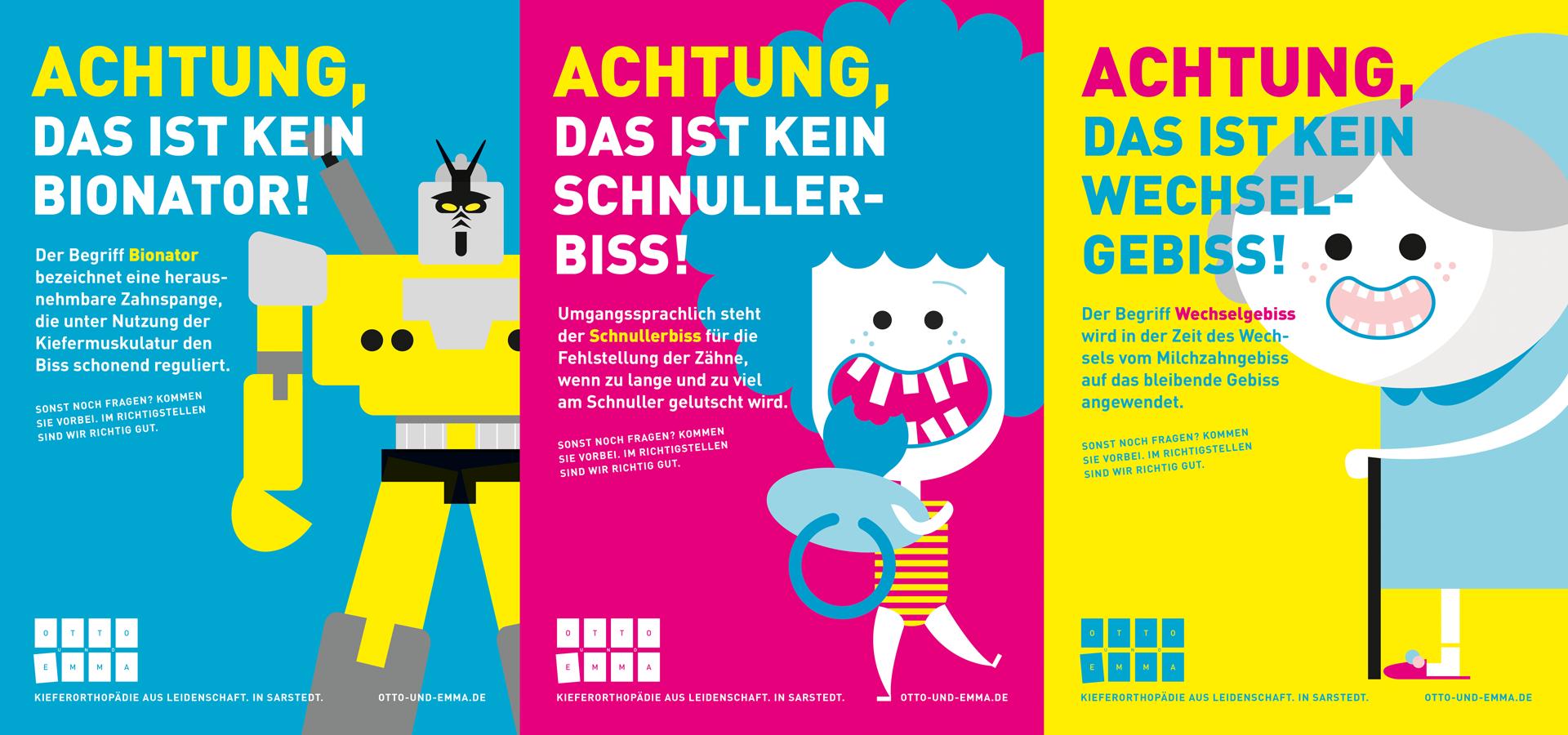 Otto und Emma Kampagne ©gobasil ~ Agentur für Kommunikation, Hamburg Hannover