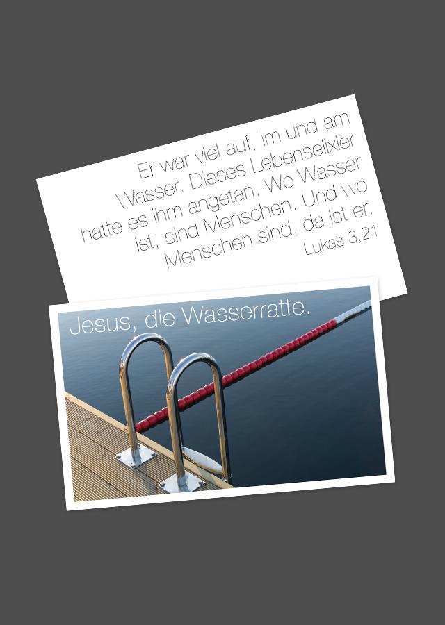 Mensch Jesus ©gobasil GmbH ~ Agentur für Kommunikation, Hamburg Hannover